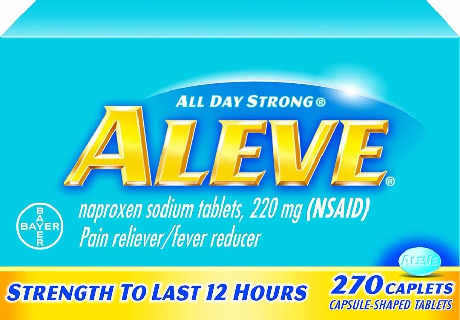 Aleve (naproxen) for Gout